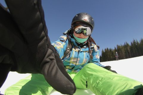 tech on snow, mygeeksuit